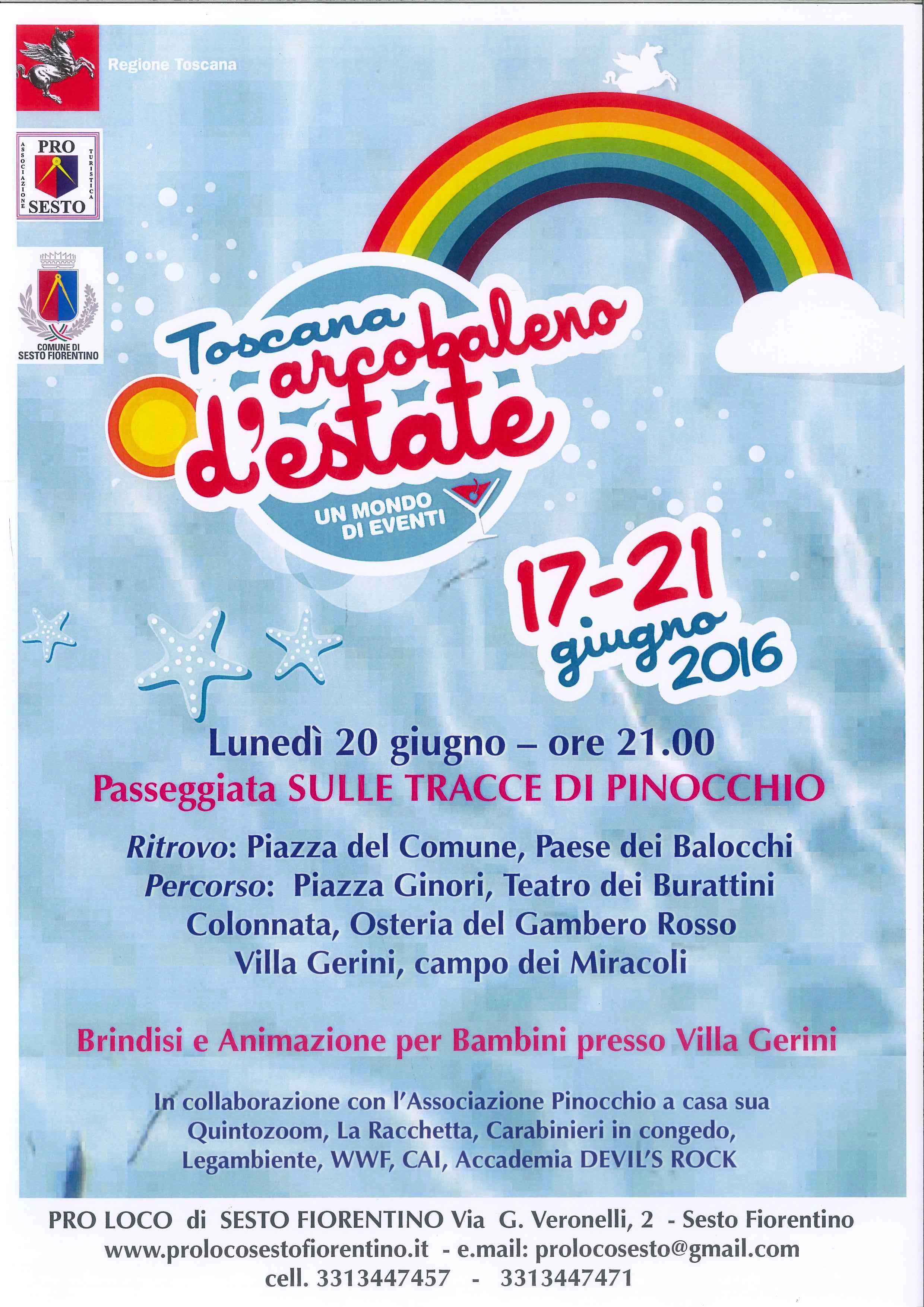 Toscana Arcobaleno Estate 2016